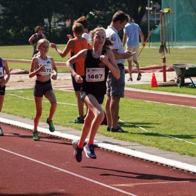 Prima debuut Madelief op de 1000m